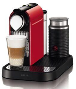 Nespresso Citiz & Milk XN7305P4 Krups - Cafetera de cápsulas monodosis - Análisis Opiniones, ofertas y precios