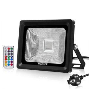 comparativa mejores focos solares MEIKEE 30 LEDs