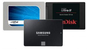 Comparativa mejores discos duros SSD