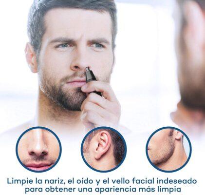 mejor cortapelos para nariz y orejas