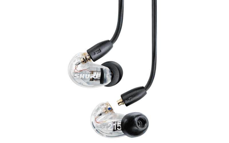 shure se215 auriculares in ear
