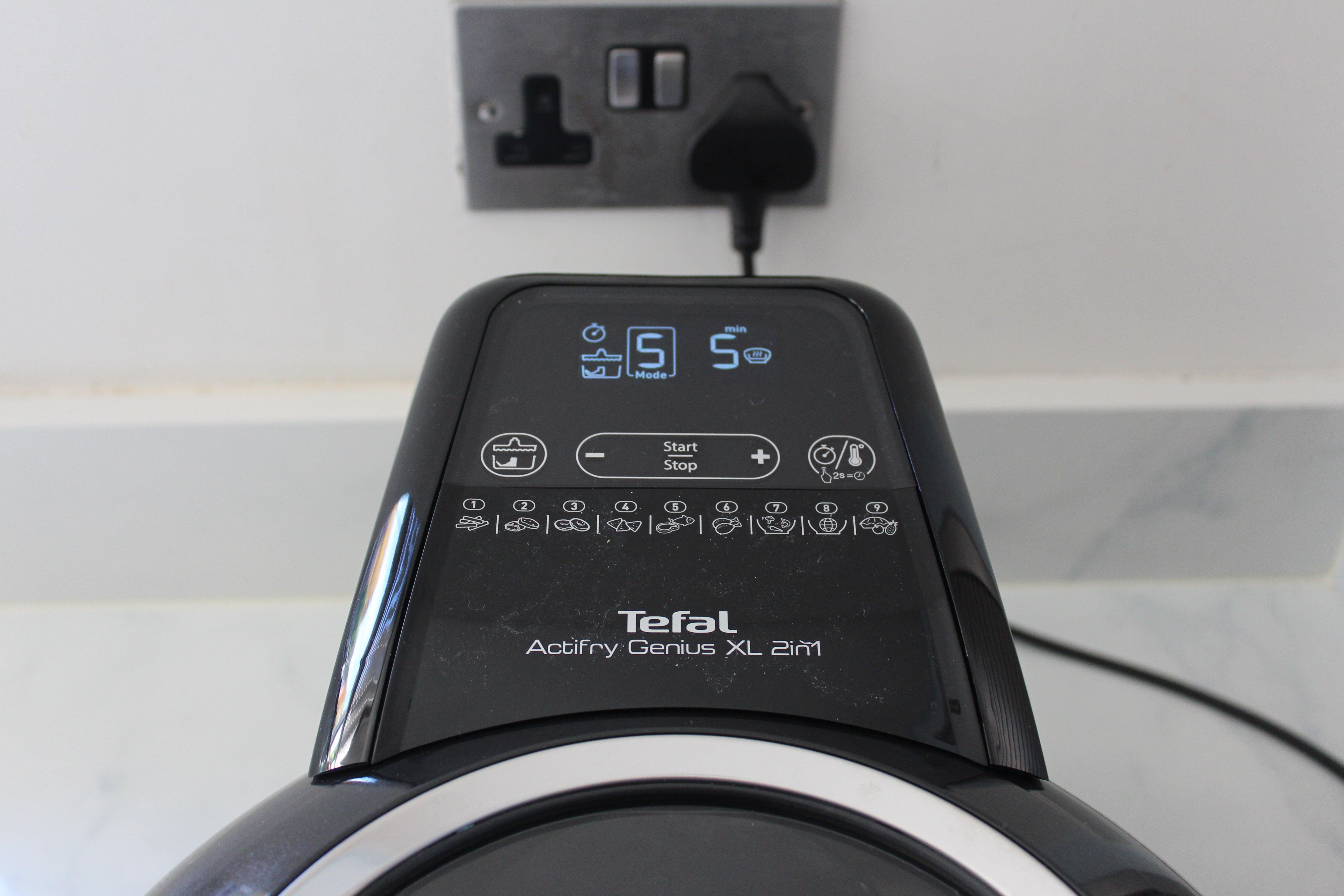 Controles de Tefal ActiFry Genius XL 2en1