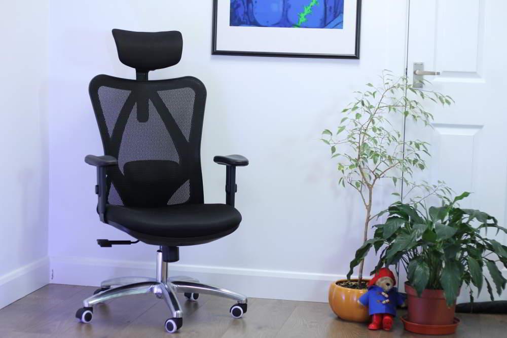 Descripción general de la silla de oficina Sihoo M18