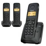 Comprar Teléfono fijo inalámbrico Siemens Gigaset A120 Trío – Precios y opiniones